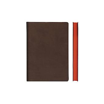 Signature A5 & A6 Notebooks Fine Italian PU Soft Cover, Various Colours