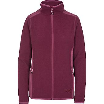 Trespass mujeres Kelsay DLX cremallera completa chaqueta de vellón