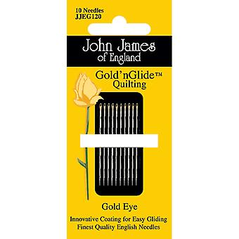 Gold'n Glide Quilting Needles  Size 9 10 Pkg Jjeg120 9