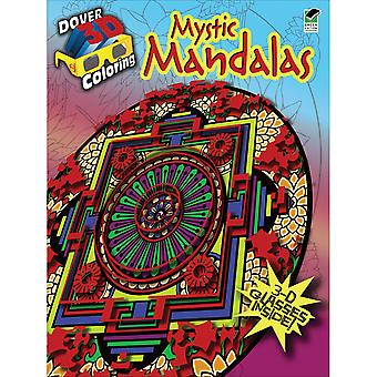 Dover Publications Mystic Mandalas Coloring Book 3D Dov 48102