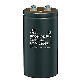 Electrolytic capacitor Screw-type 10000 µF 20 % (Ø x H) 35.7 mm x 55.7 mm Epcos B41456-B7109-M 1 pc(s)