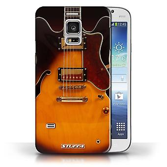 STUFF4 Case/Cover for Samsung Galaxy S5 Mini/Semi Acoustic/Guitar