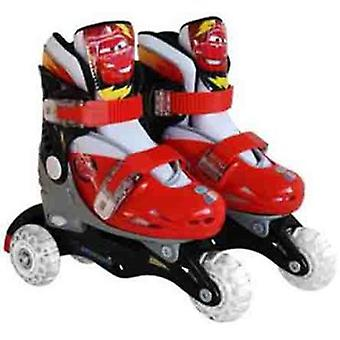 Stamp Adjustable Skates Two In One 3 Wheels Cars 2 Size 27-30