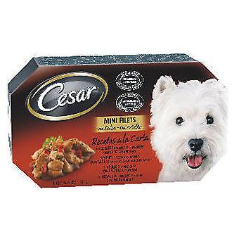 Cesar Cesar Multipack Meat In Sauce Recipes (Dogs , Dog Food , Wet Food)