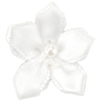 Ribbon Violets 6/Pkg-White 15259-29