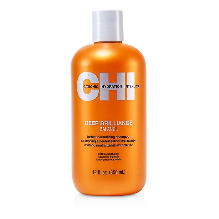 CHI Deep Brilliance Balance Instant Neutralizing Shampoo 350ml/12oz