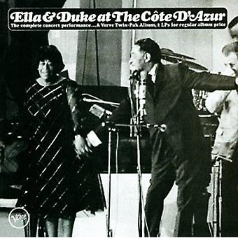 Fitzgerald/Ellington - Ella & hertug på Cote D'Azur [CD] USA importen