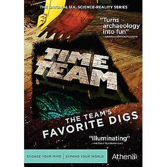 Time Team: The Team's Favorite Digs [DVD] USA import