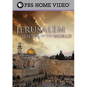Jerusalém: O centro do mundo [DVD] EUA importar