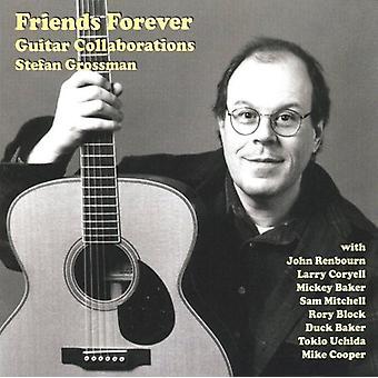 Stefan Grossman - venner for evigt Guitar samarbejder [CD] USA import