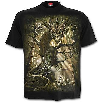 Spiral - DRAGON FOREST - Men's Black Short Sleeve T-Shirt