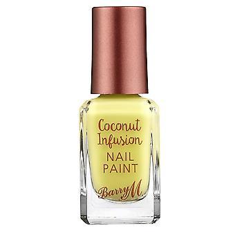 Barry M Barry M Coconut Infusion Nail Paint - Lemonade