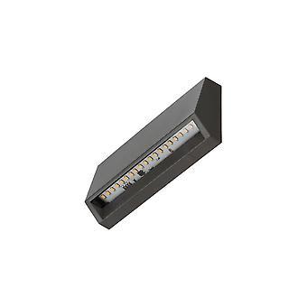 Timeguard Horizontal 3W LED Step Light, Dark Grey