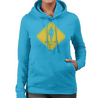 Vinter på din egen risiko hvid vandrere spil af troner kvinder er hætte Sweatshirt