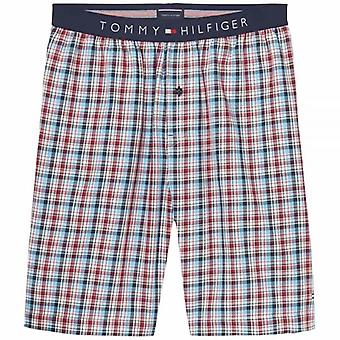 Tommy Hilfiger Woven PJ Shorts, Summer Check, X-Large