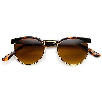 Kleine Retro-Mode Halbformat Kreis Runde Sonnenbrille