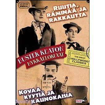 Buster Keaton silent films in a Box (2 DVD)