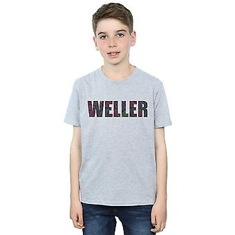 Paul Weller Boys Paisley Logo 2 T-Shirt