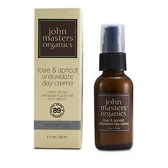 John Masters Organics Rose & Apricot Antioxidant Day Cream (For Normal/ Dry Skin) - 30ml/1oz
