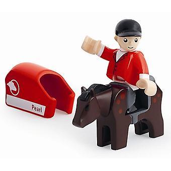 BRIO-Pferd und Reiter 33793