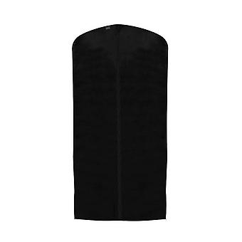 Black Breathable Suit Cover in Polypropylene - Zipped - 99x60cm
