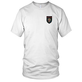 ARVN 2. Marine-Infanterie - Trau-Dien - militärische Vietnamkrieg Abzeichen gestickt Patch - Herren-T-Shirt