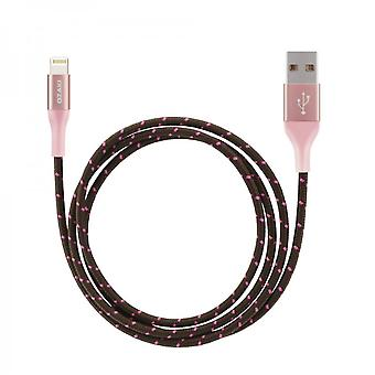 Ozaki OT222ARG O! Tool T-cable charger L100 lightning 1 m - rose gold