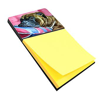 Carolines Treasures  7347SN Fawn Boxer Sticky Note Holder