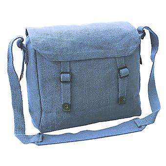 New Vintage Style Canvas Shoulder Haversack Bag