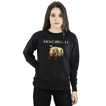 Disturbed Women's Fist Logo Sweatshirt