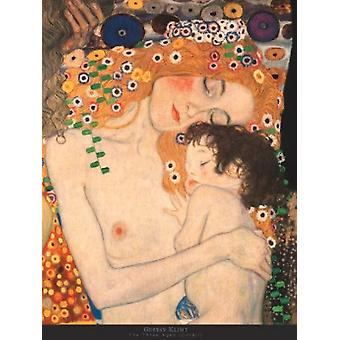 Three Ages of Woman-Mother Child Poster Print by Gustav Klimt (24 x 32)