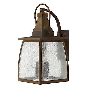 HK/MONTAUK/L 4 Light Down Light Wall Lantern in Sienna Finish
