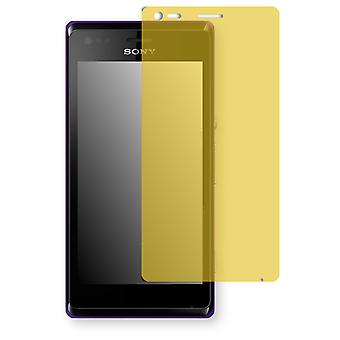 Sony Xperia C2005 display protector - Golebo view protective film protective film