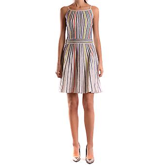 Missoni Damen KD0KD12W23B201 Multicolour Polyamid Kleid