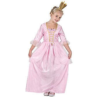 Pretty Princess Childrens Fancy Dress Costume Dress & Headpiece