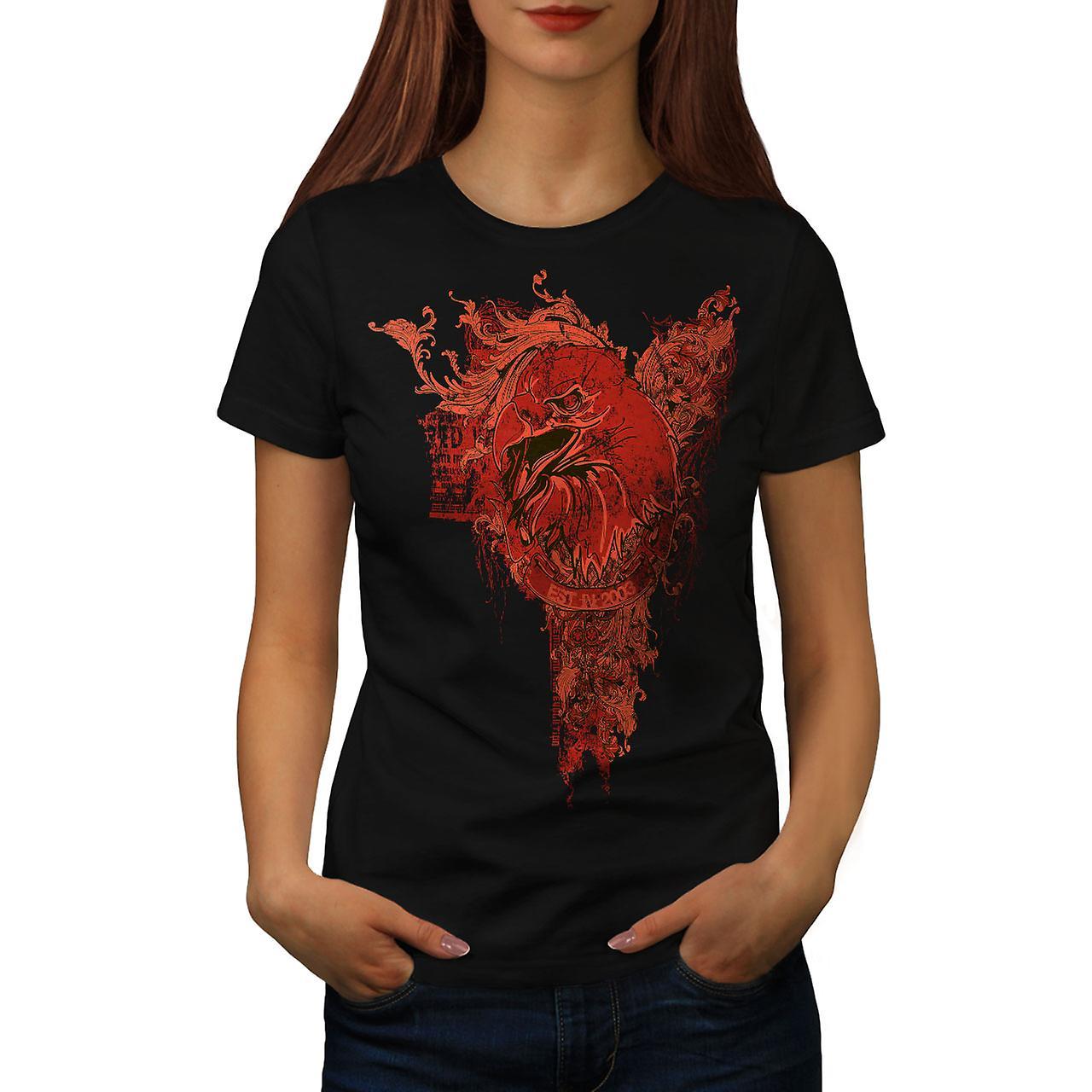 Grim Reaper Death Vintage Women Black T-shirt | Wellcoda