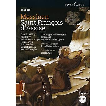 O. Messiaen - Saint Francois D'Assise [DVD Video] [DVD] USA import