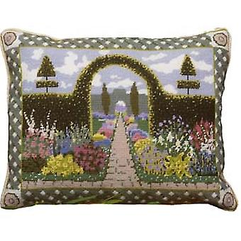 Enchanted Garden Needlepoint Canvas
