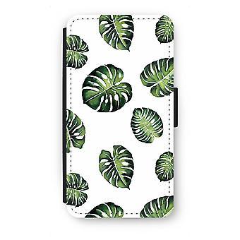 Samsung Galaxy A5 (2015) Flip Case - tropische Blätter