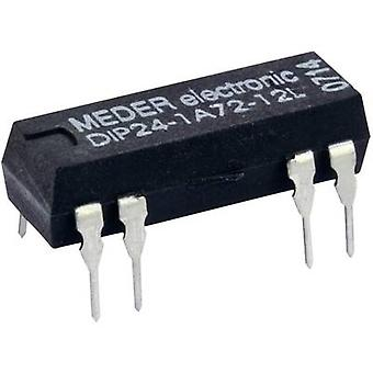 Reed relay 1 maker 12 Vdc 0.5 A 10 W DIP 8