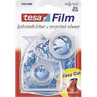Tesafilm® Crystal Clear 10 m x 15 mm + Dispenser