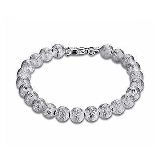 Womens Silver Small Ball Beads Bracelet Pearl BG1729