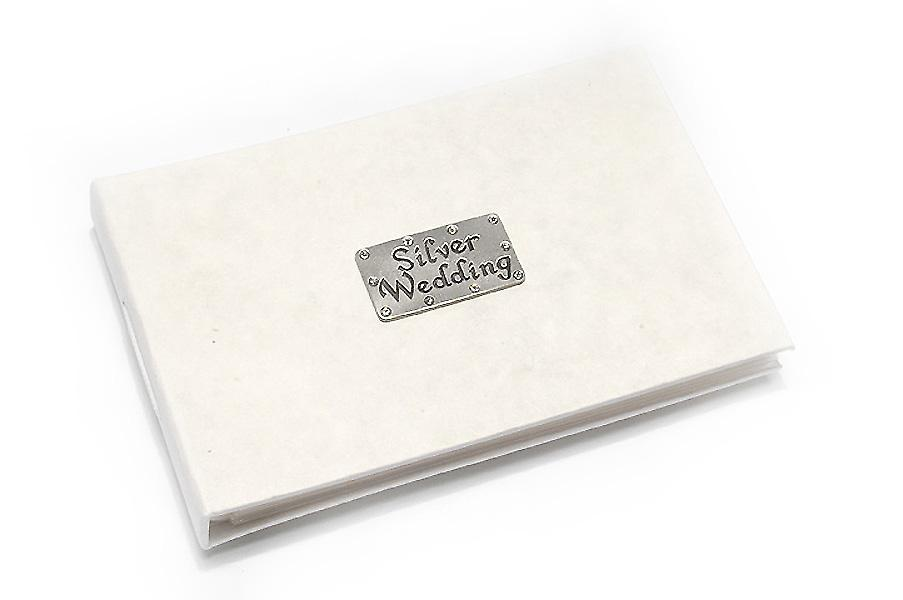 Silver Wedding Celebration Pocket Photo Album