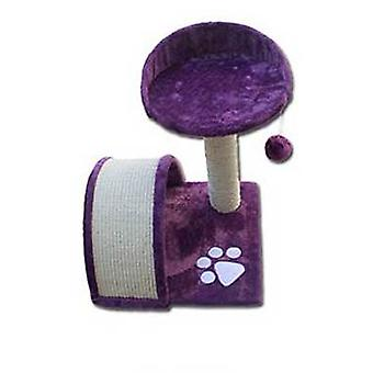Nayeco Scratcher for cats Savanna Mountain (lila) (Cats , Toys , Scratching Posts)