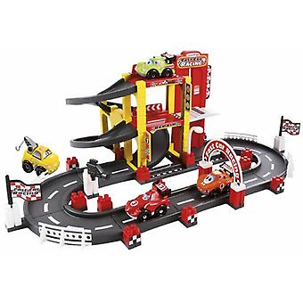 Smoby Garage + F1 Circuit First Age (Babies and Children , Toys , Preschool , Vehicles)
