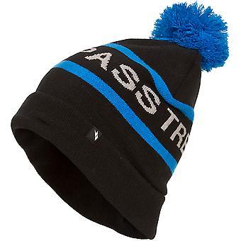 Trespass Mens Fitz Knit Acrylic Pom Pom Beanie Ski Hat