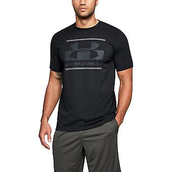 Under Armour Mens Blocked Sportstyle Logo Graphic Short Sleeve T Shirt