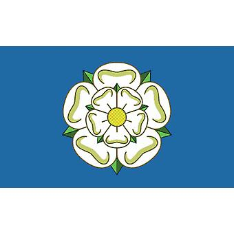 5ft x 3ft Flag - UK - Yorkshire Rose