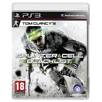 Tom Clancys Splinter Cell sortliste - Standard udgave (PS3)