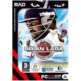 Brian Lara Cricket 2007 (DVD PC) - Factory Sealed